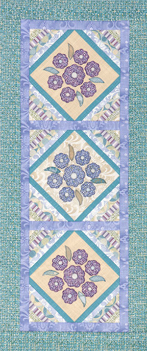 Floral Pastel Table Runner