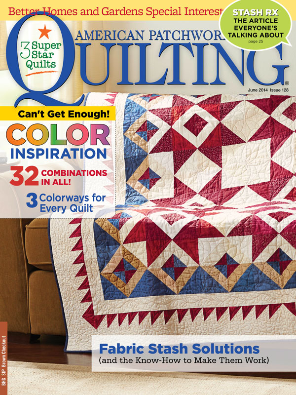 American Patchwork & Quilting June 2014