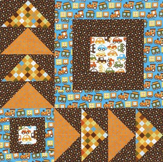Large Flying Geese Wall Quilt