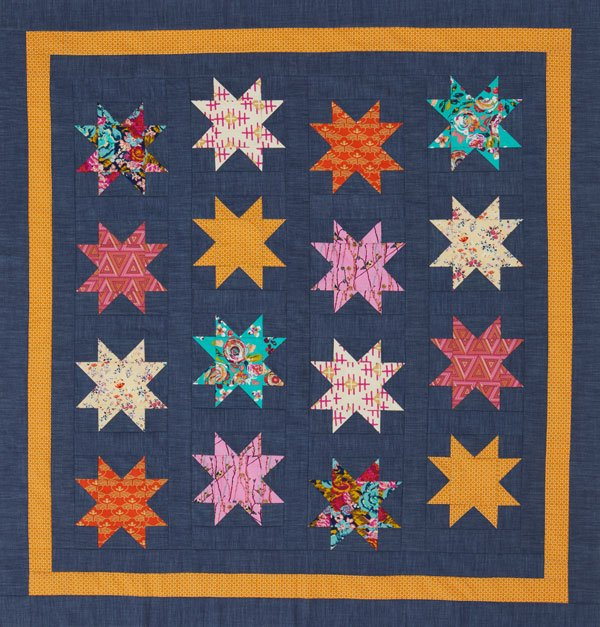 Seventies Style Quilt
