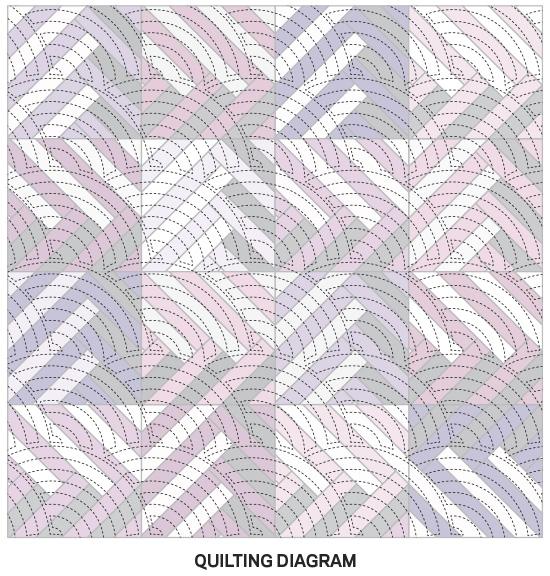 Purple Play Quilting Diagram