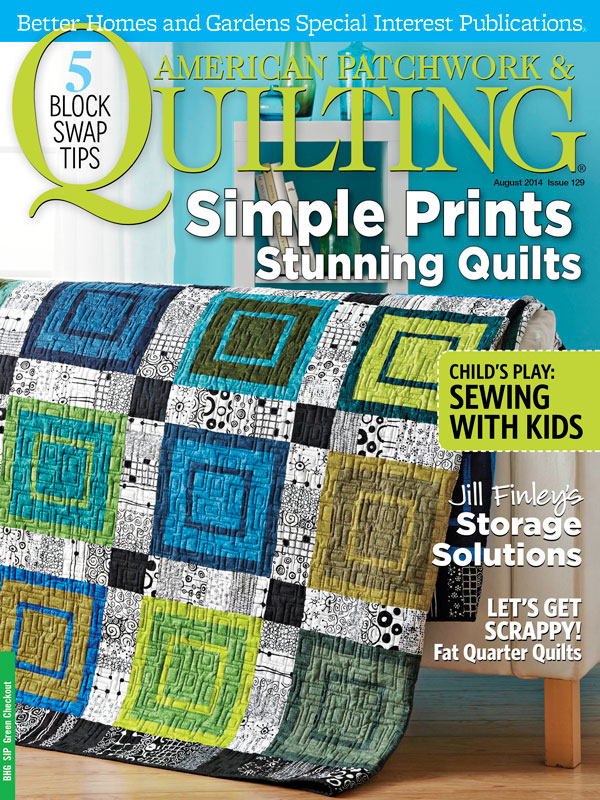 American Patchwork & Quilting August 2014