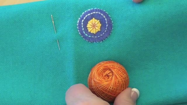 How To: Whipped Woven Circle