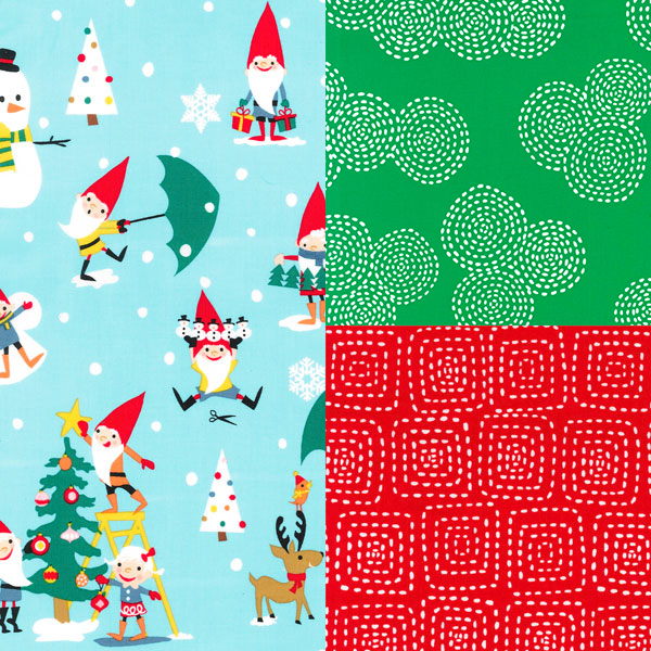 Christmas Fabric Collections 2014