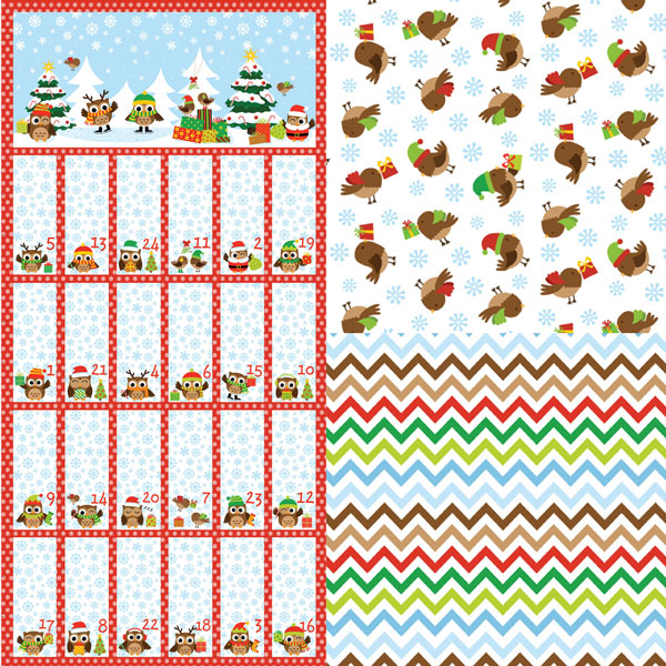 Holiday Hoot Flannel