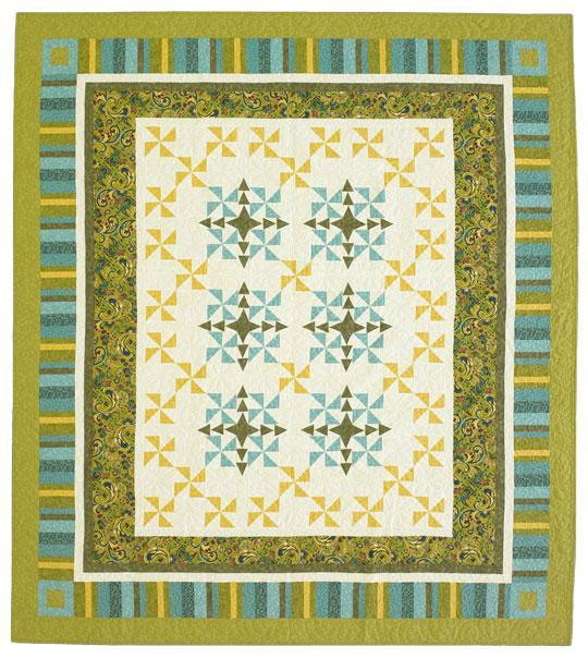 Green Pinwheels
