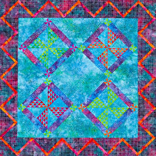 Hot and Cold Wall Quilt