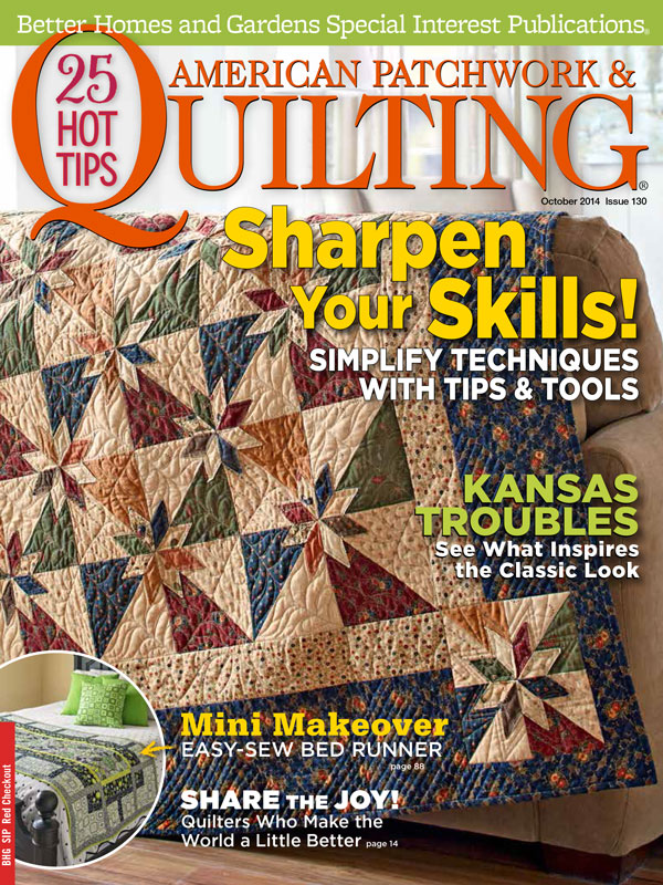 American Patchwork & Quilting October 2014