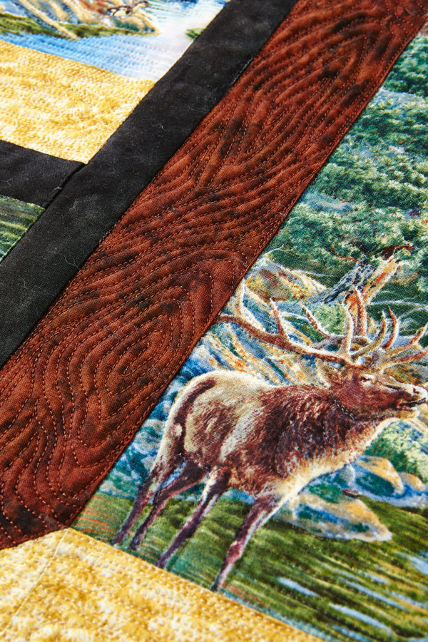 Nature's View Machine-Quilting Details