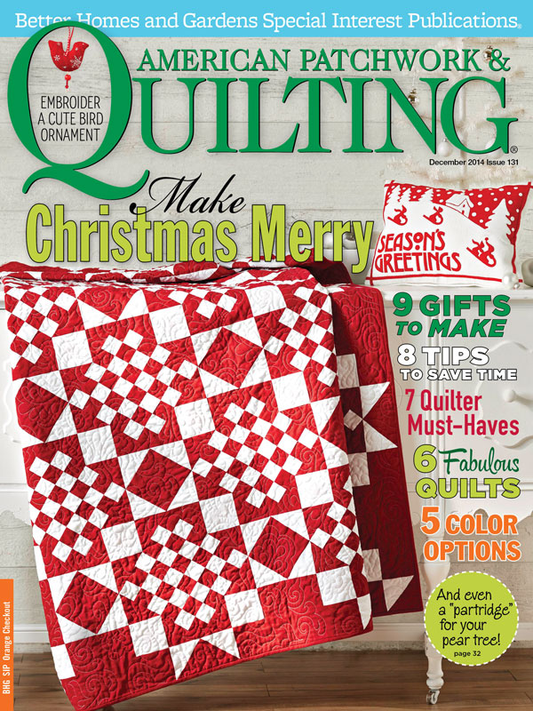American Patchwork & Quilting December 2014