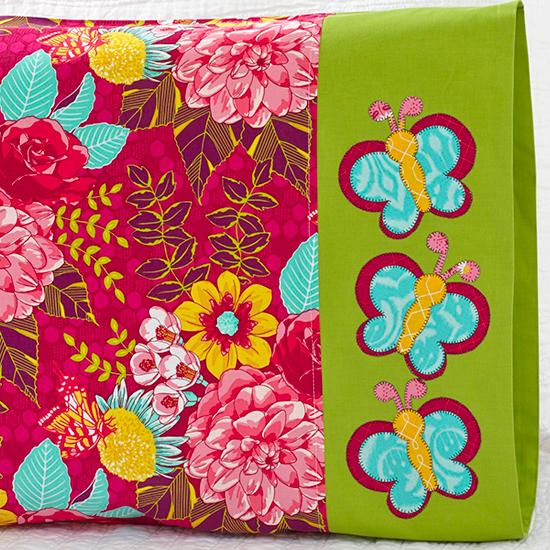 MIchael Miller Fabrics - Butterfly Appliqué