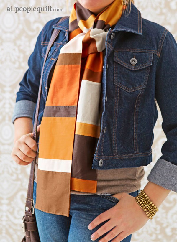 Stylish Scarf Patterns