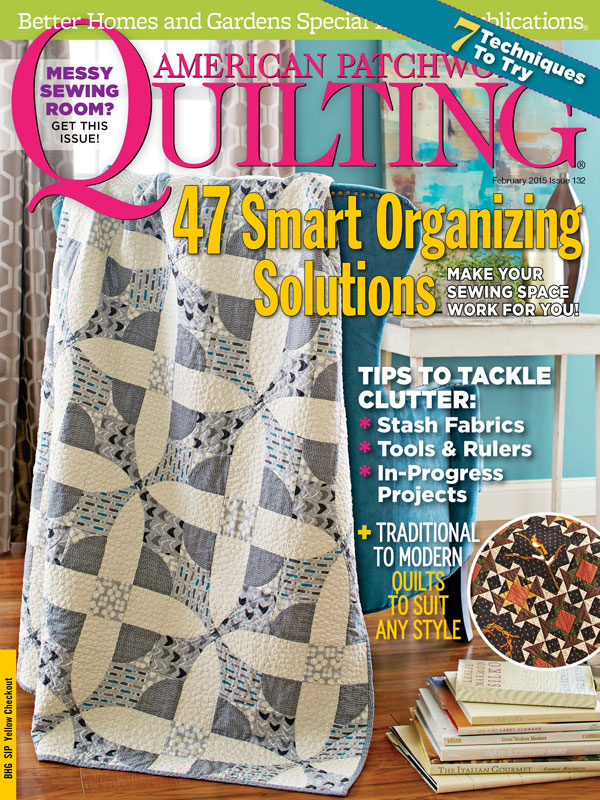 American Patchwork & Quilting February 2015