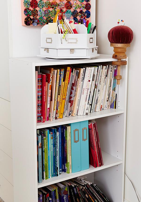 Pretty Bookshelf