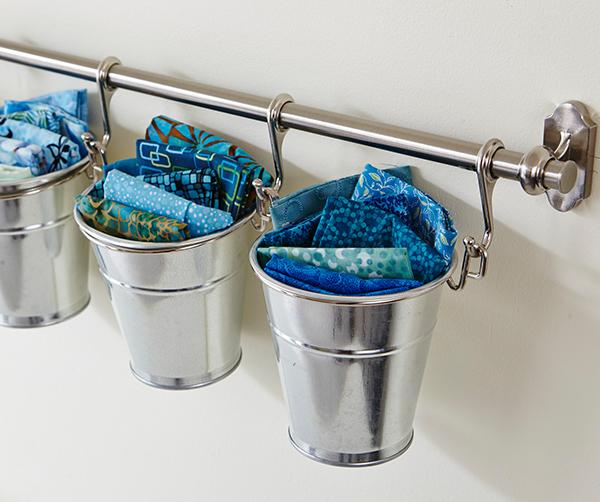 Hanging Scrap Buckets