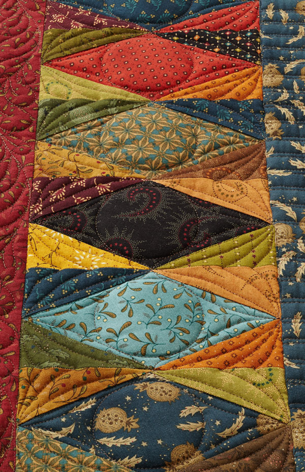 In Perfect Harmony Machine-Quilting Detail