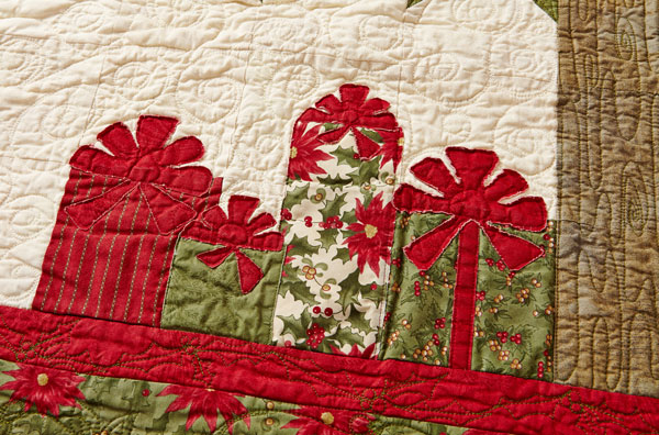 Little Evergreen Machine-Quilting Detail