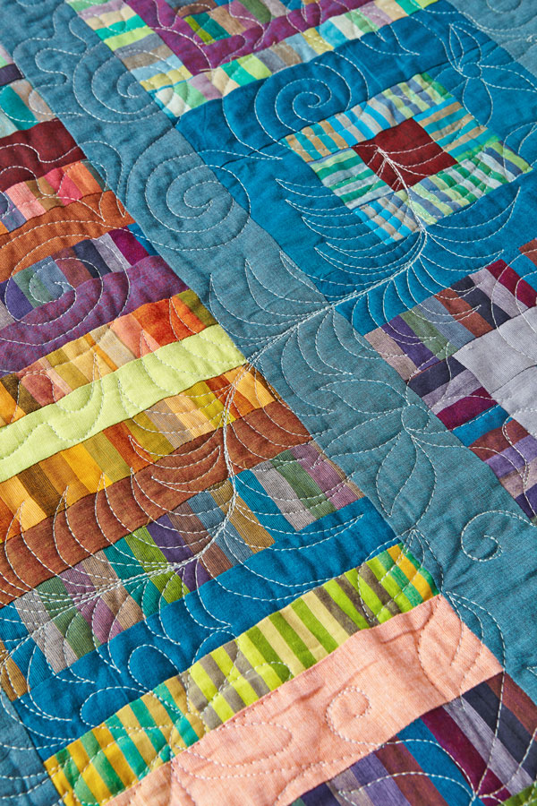 Solidly Built Machine-Quilting Detail