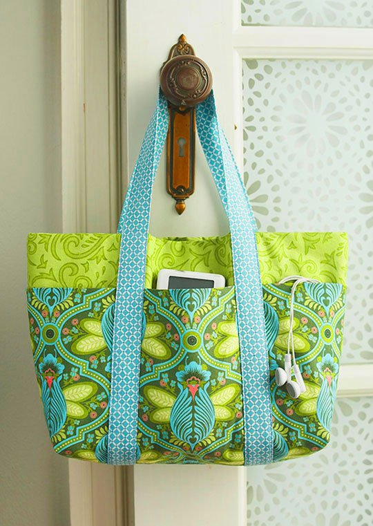 Top Bag Pattern: Pick-a-Pocket Purse