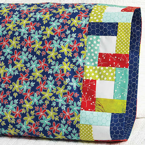 Moda Fabrics - Pillowcase 54 Building Blocks Band