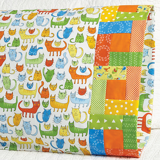 Robert Kaufman Fabrics - Pillowcase 54 Building Blocks Band