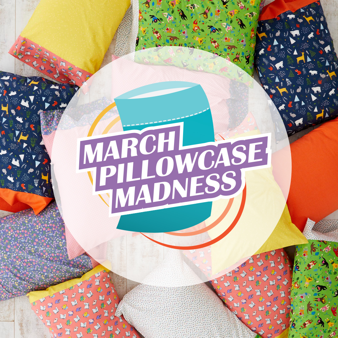 March Pillowcase Madness Logo