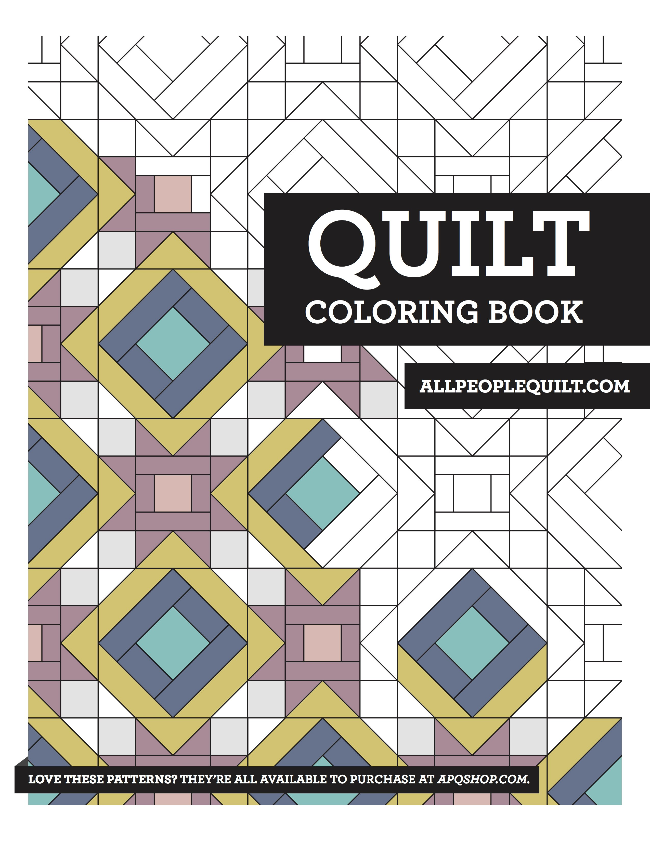 Free Quilting Coloring Books Allpeoplequilt Com