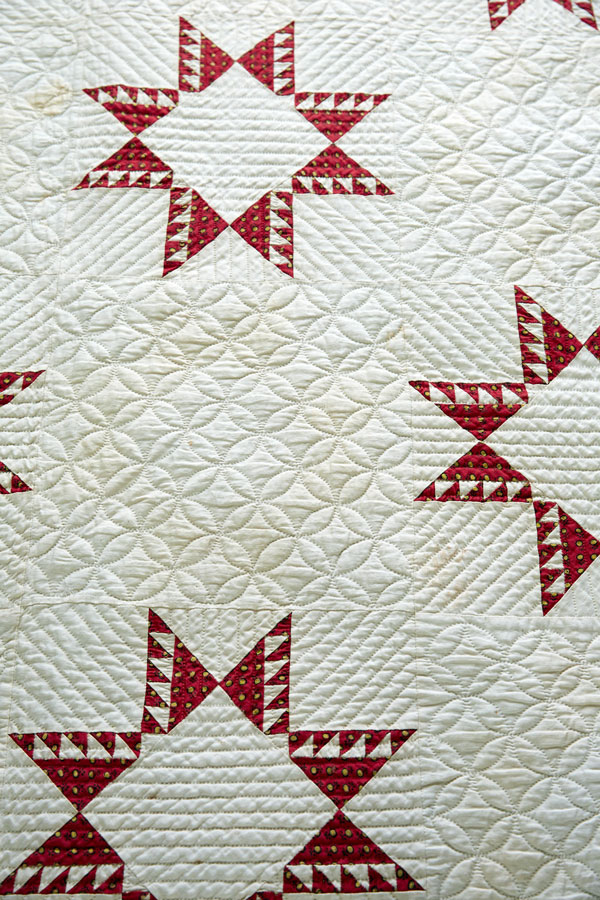 Bed Quilt Detail