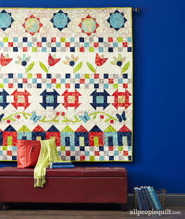 Mystery Row Quilt