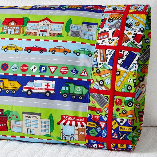 Northcott - Pillowcase 60 Argyle