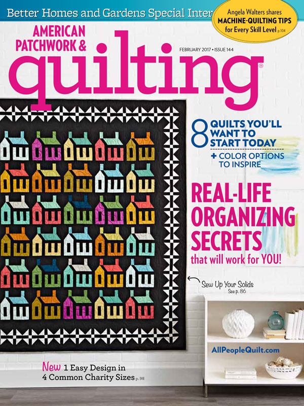 American Patchwork & Quilting February 2017