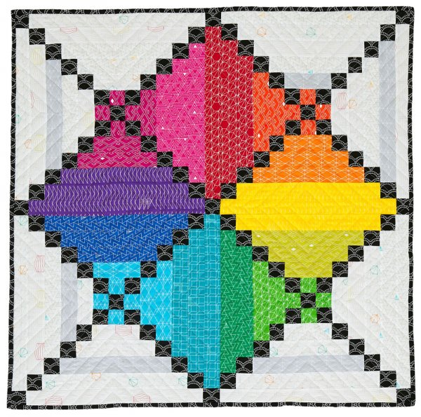 Rainbow Quilt Patterns