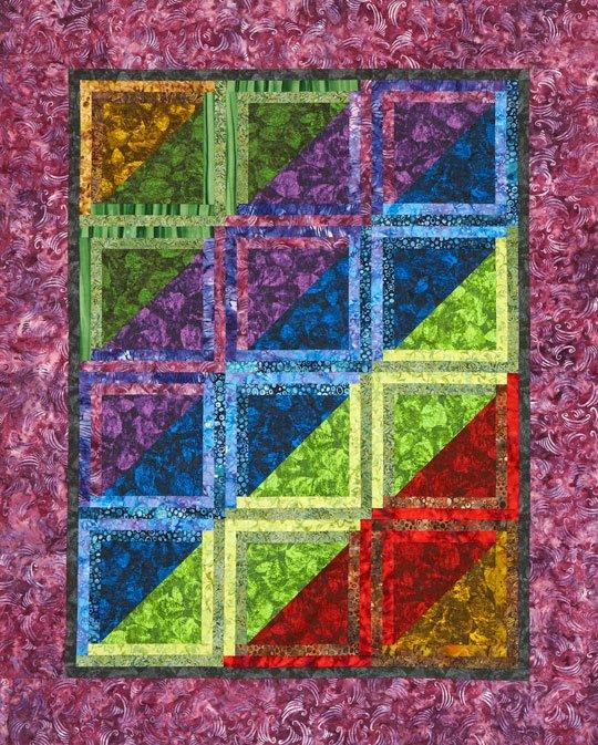 Batik Jewels Quilt