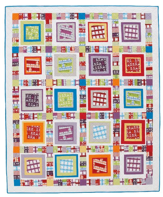 Floating Boxes Quilt