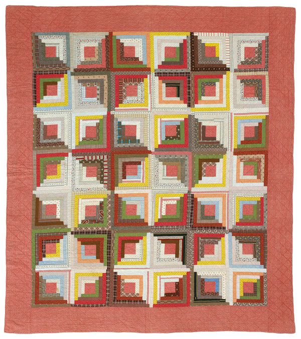 Flashback Quilt: Log Cabin Color Option #1