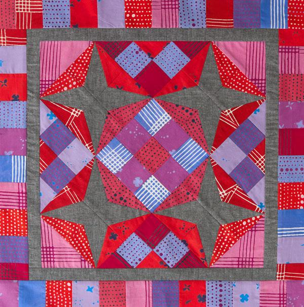 Hummingbird Nine-Patch Color Option #1