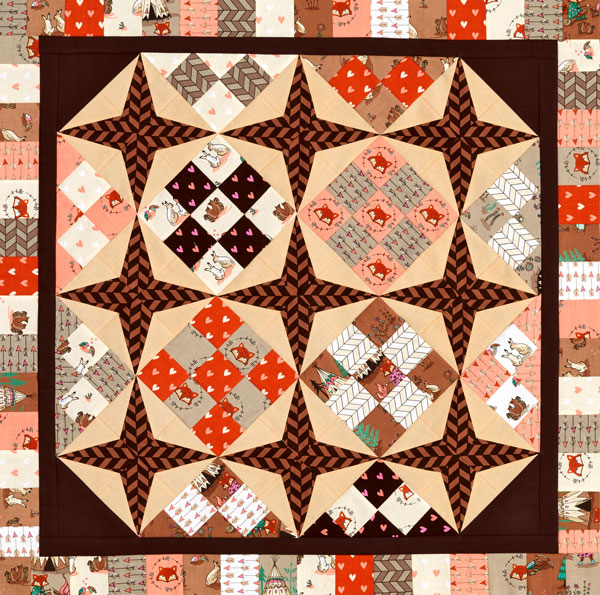 Hummingbird Nine-Patch Color Option #2