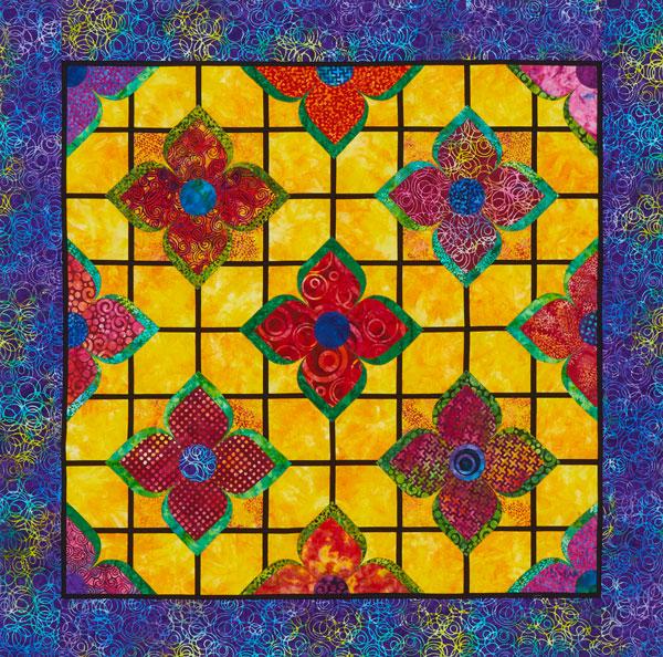 Flower Trellis Color Option #2