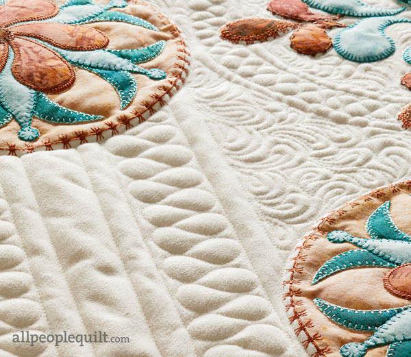 Artful Elegance Machine-Quilting Detail