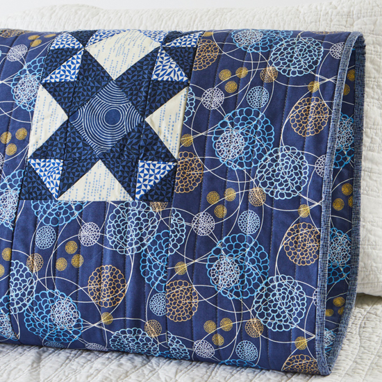 Moda Fabrics - Pillowcase 65 Reversible Sham