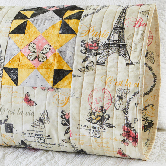 Paintbrush Studio - Pillowcase 65 Reversible Sham