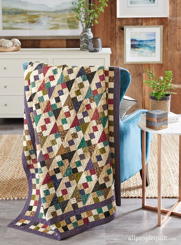 Flashback Quilt: Jake's Ladder