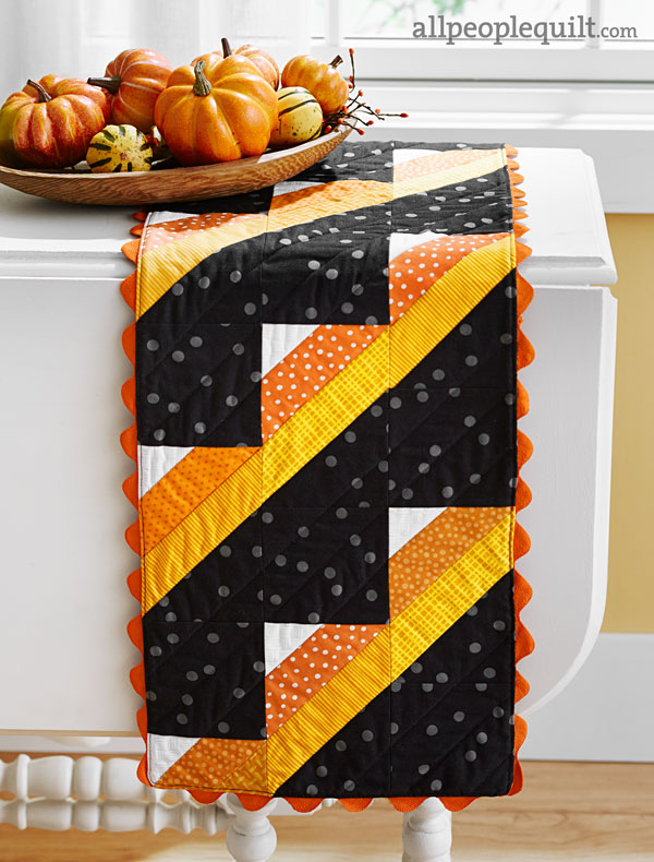 Candy Corn Runner