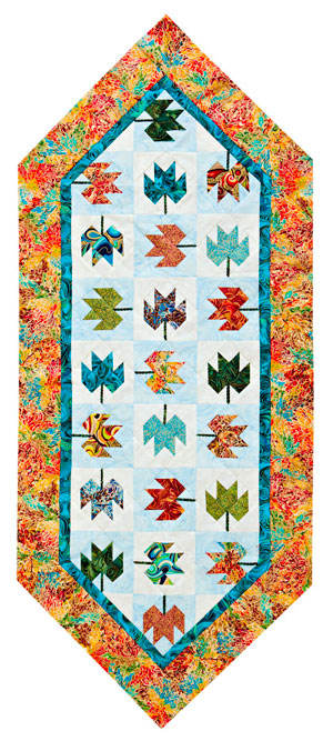 A New Leaf Table Runner