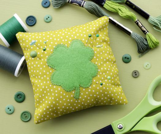 Shamrock Pincushion
