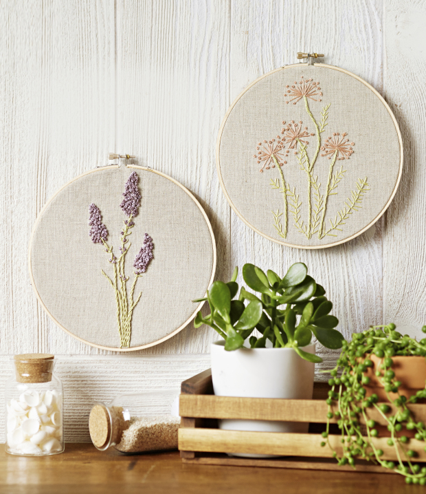 Natural Wonders Embroidery