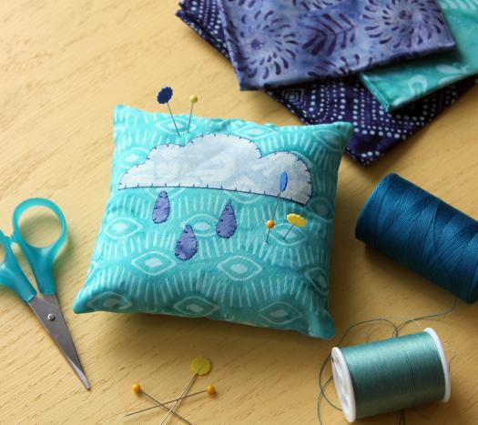 Rain Shower Pincushion