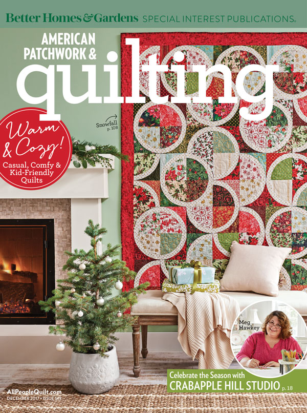 American Patchwork & Quilting December 2017