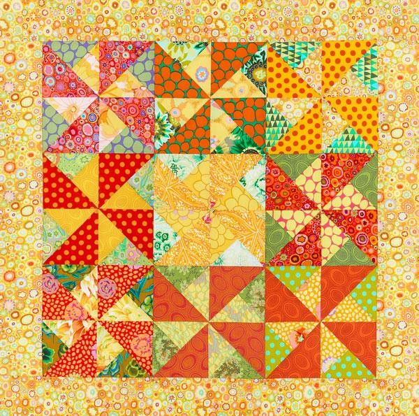 Zigzag Pinwheels Color Option