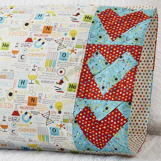 Northcott - Pillowcase 69: Wonky Heart Band